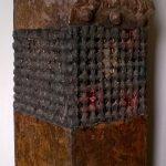 Rinascita del Cavaliere, materiali vari cm. h76x22x25