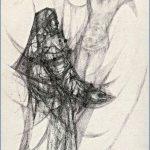 CROCIFISSIONE - penna su carta cm. 29x20