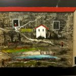 Bellucci, La casa bianca acrilico su tela cm. 80x100