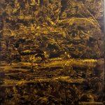Bellucci Sirio - L'UNIVERSO - tecnica mista su tela cm. 100x82