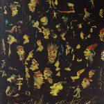 Bellucci Sirio - La notte di Halloween, tecnica mista su tela cm. 100×80